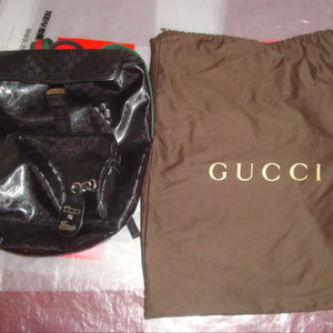 b3e23a73d179 Gucci Bags | Limited Edition 500 By Black Gg Backpack | Poshmark